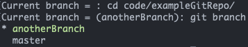 our bash prompt working as intended